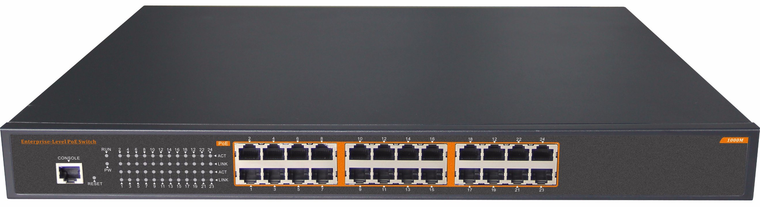 24 Gigabit Port High Power 30W Poe Ethernet Network Switch