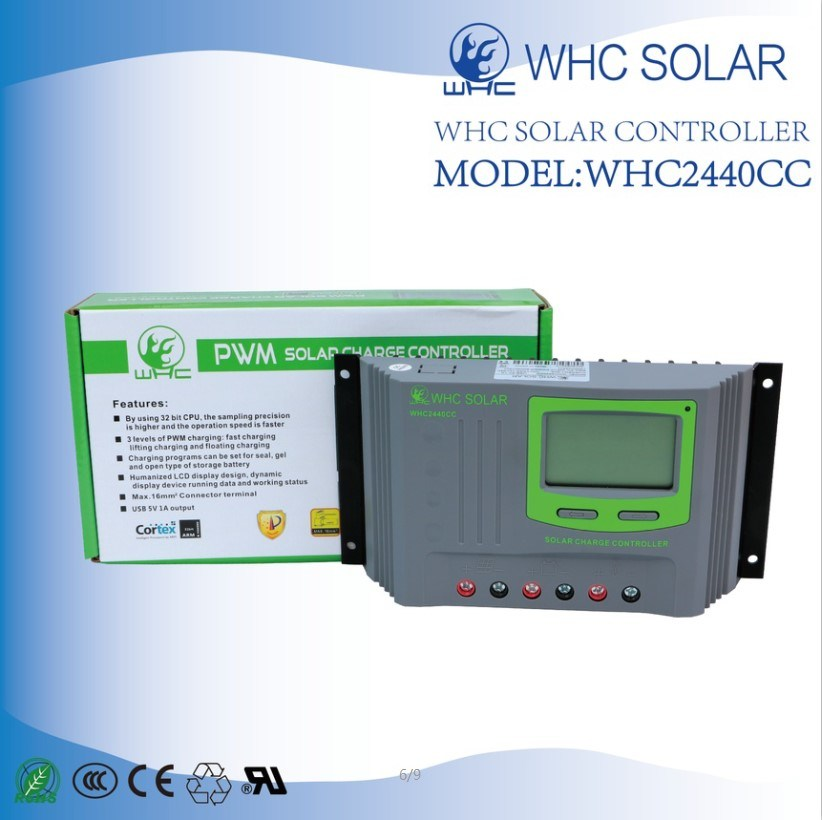 12V24V 40A PWM Solar Charge Controller