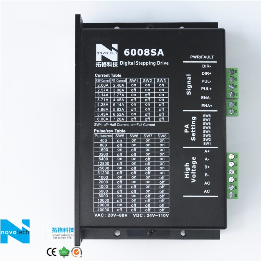 6008SA Digital Two-Phase Stepper Motor Driver