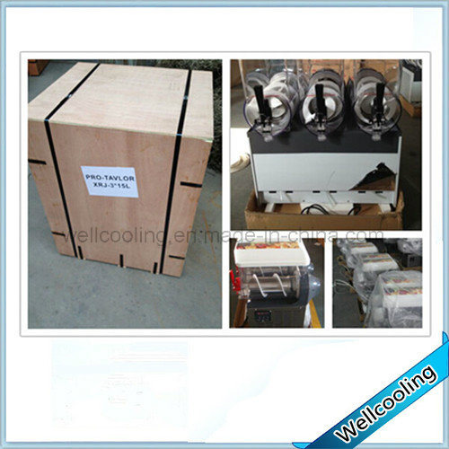 R404A Carbonated Slush Machine Granita Machine Refrigerator