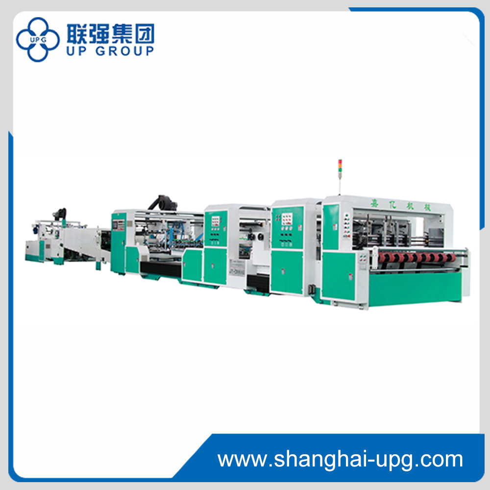 Lqjy-1100/1450/1800/2400 Automatic Folder Gluer Machine
