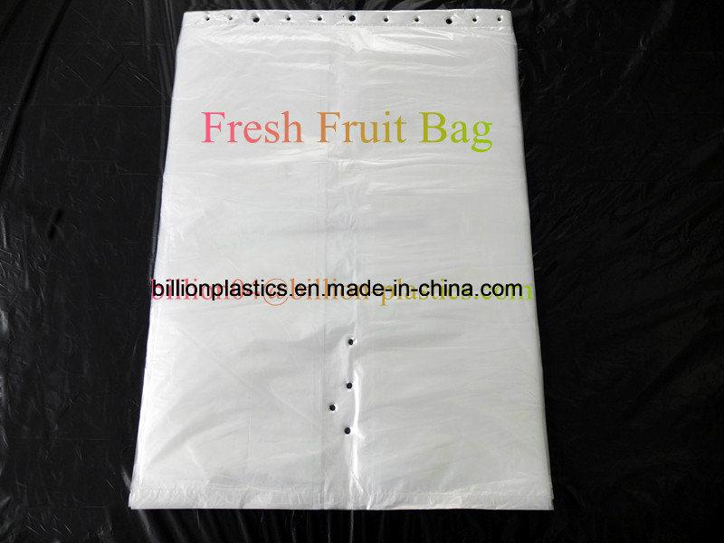 HDPE Fresh Fruit Plastic Bag Calendar Bag Flat Bag Garden Bag