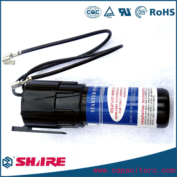 Hard Start Kit Solid State Capacitor for Refrigerator, Heating Pumps Capacitor and Air Conditioner Capacitor