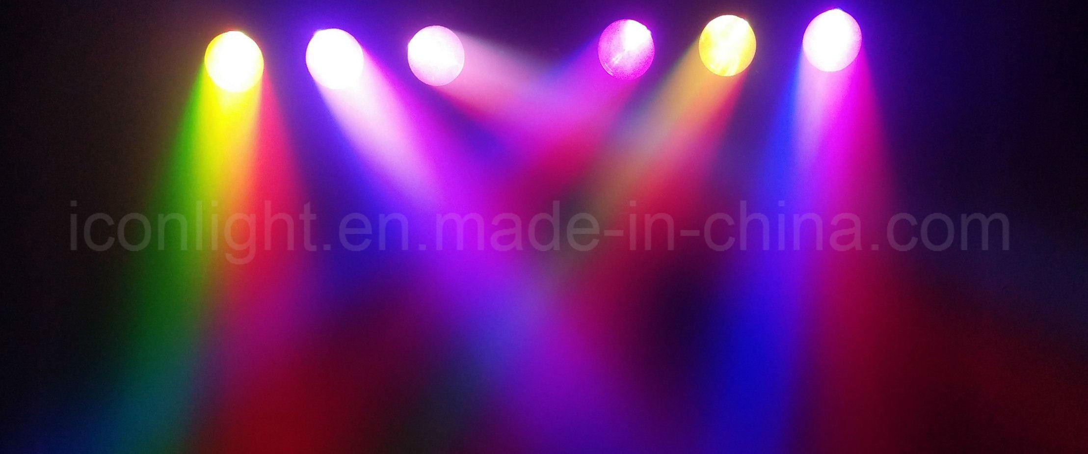 New Fast Pixel Beam 6X12W RGBW LED Moving Head Light