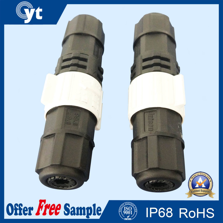 Underwater M8 M12 LED Power IP68 Waterproof Connector