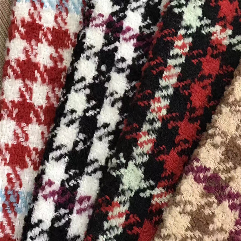Swallow Grid Fabric, Checked Fabric for Clothing, Garment Fabric, Textile Fabric