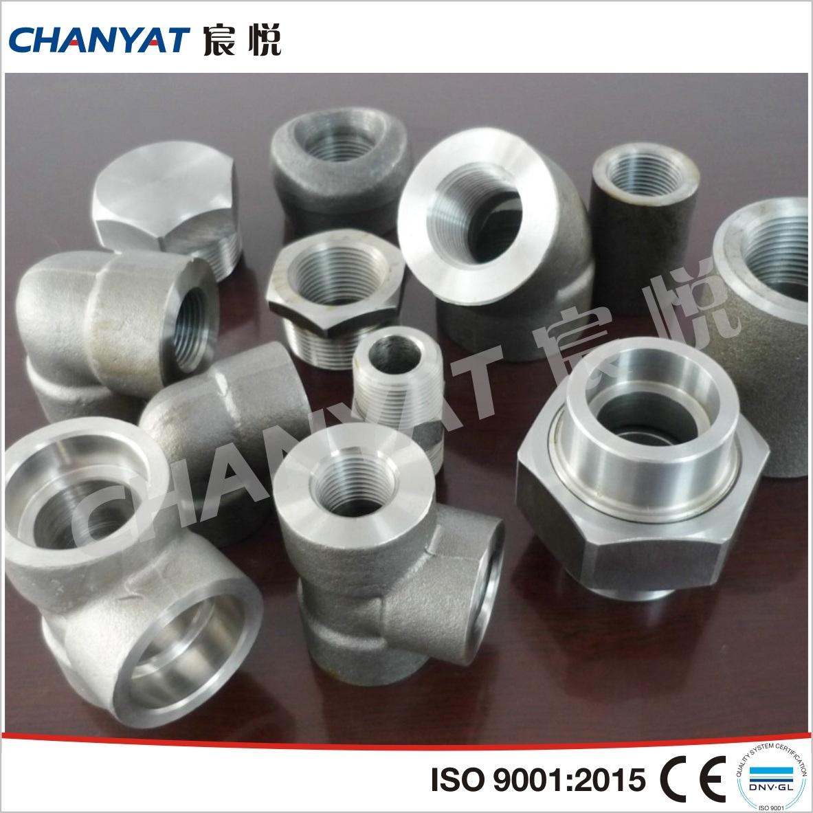 Various Material Forged Fittings (Socket Weld Fittings & Threaded Fittings)