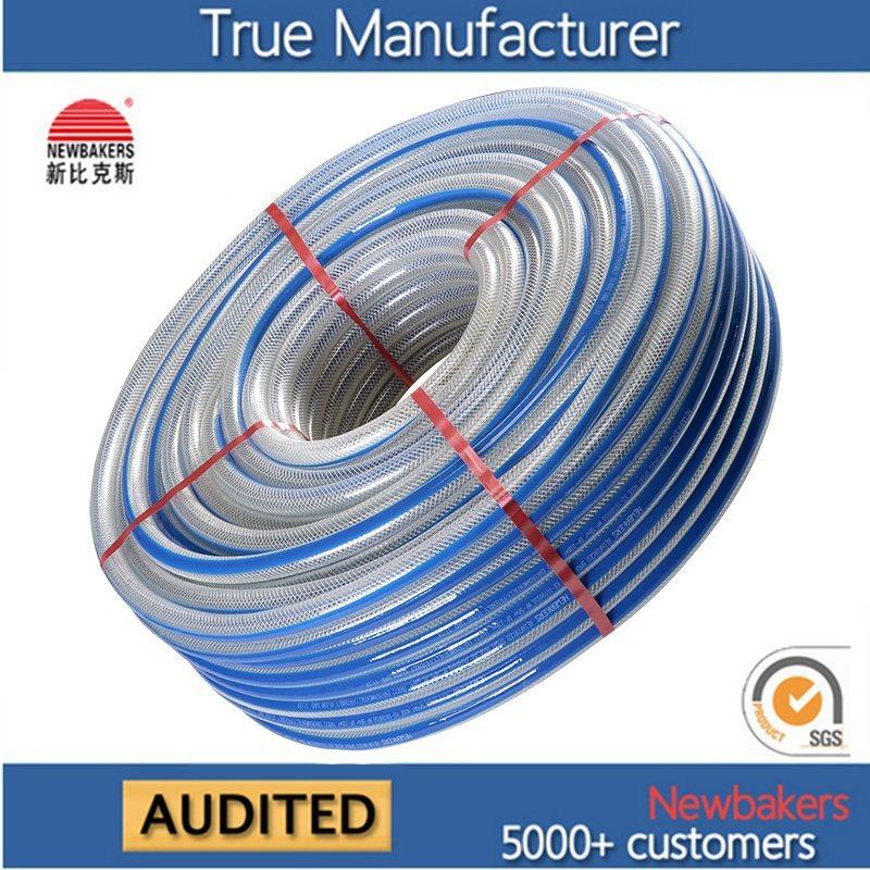 PVC Braided Reinforced Fiber Hose Water Hose Ks-698SSG