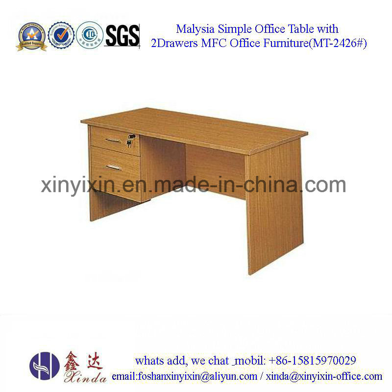 Malaysian Office Furniture Simple Office Computer Table (MT-2422#)
