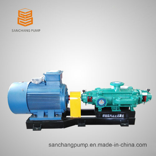 Multistage Centrifugal Pump with Opposed Impellers for Mining Use