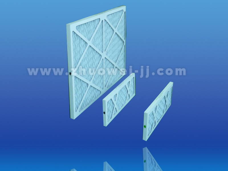 Machinery Cardboard Pleated Merv13 Primary Ventilation Filter