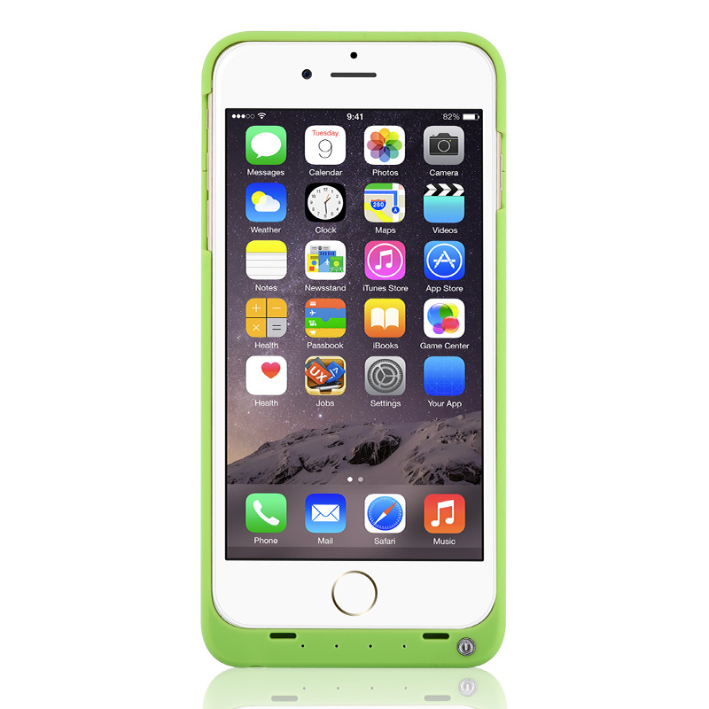 4000mAh External Power Case Battery Charging Case for iPhone 6 Plus/6s Plus