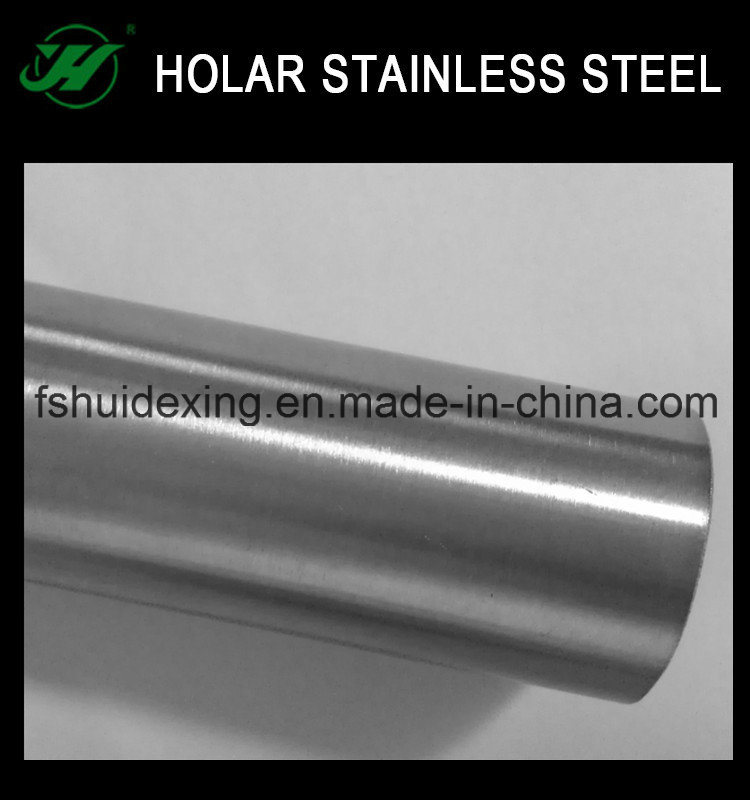 201/304 Grade Stainless Steel Tube for Decoration