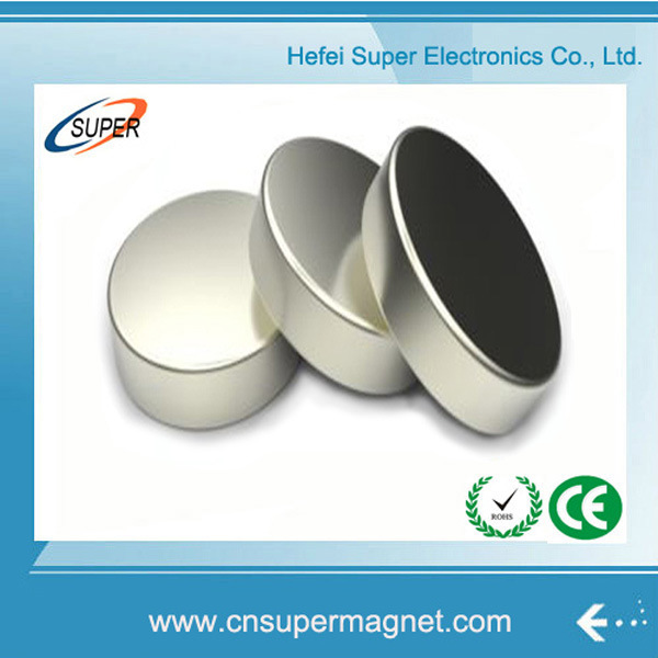 N38 Nickel Strong Permanent Disc Sintered NdFeB Magnet