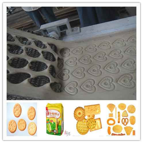 Complete Full Automatic Wafer Biscuit Making Machine Production Line China Factory Price