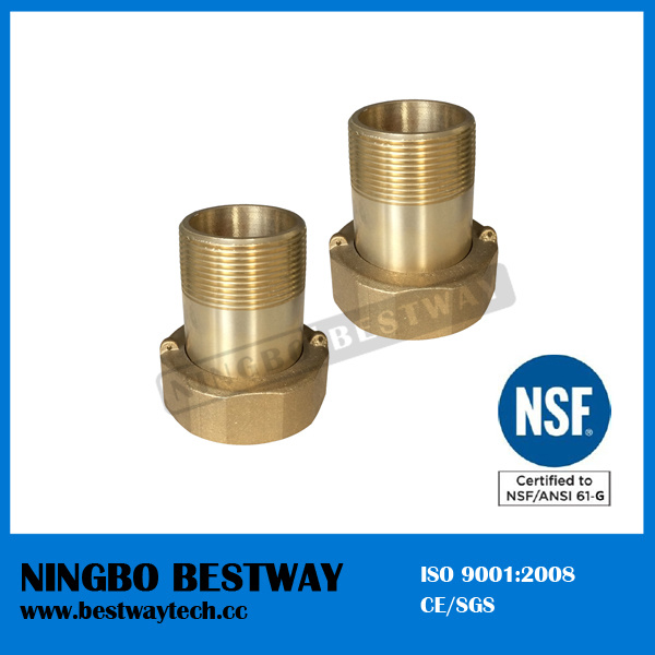 Best Quality Lead Free Eco Brass Water Meter Coupling