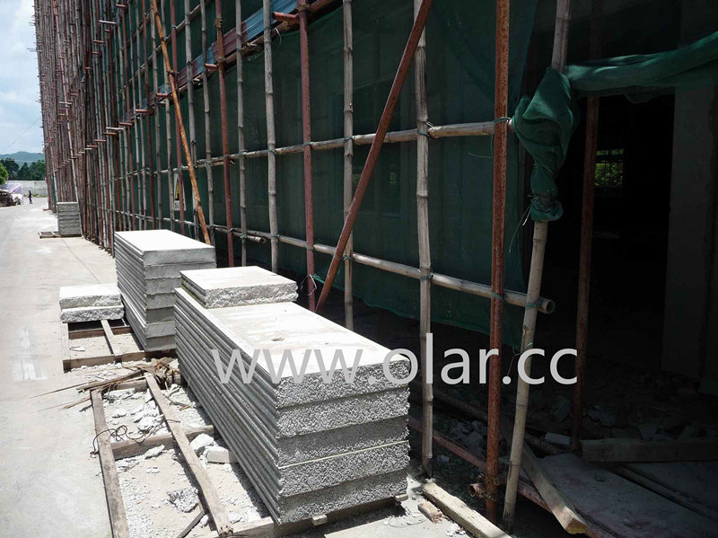 Sound Absorbing & Soundproof Insulated EPS Composite Sandwich Wall Panel