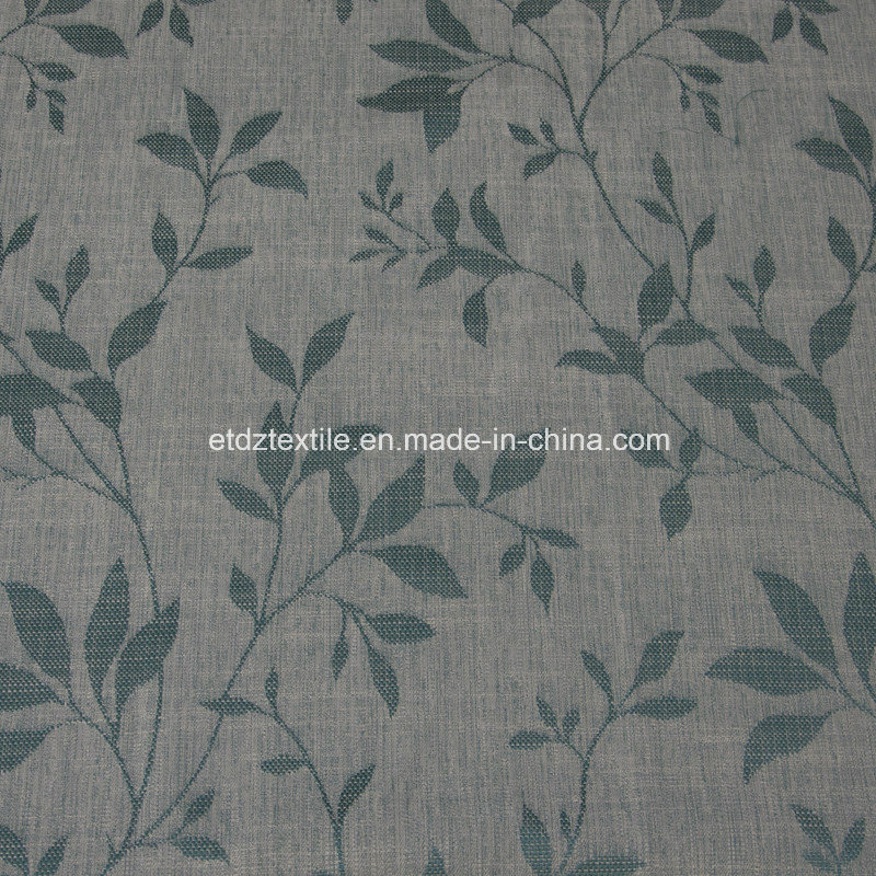 2016 Morden Polyester Piece Dyed Linen Like Curtain Fabric