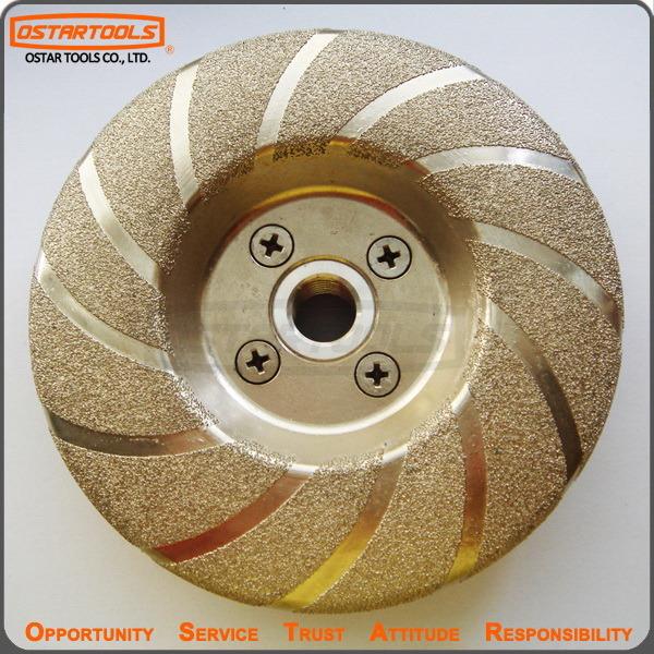 Vacuum Brazed Metal Grinding Diamond Wheel