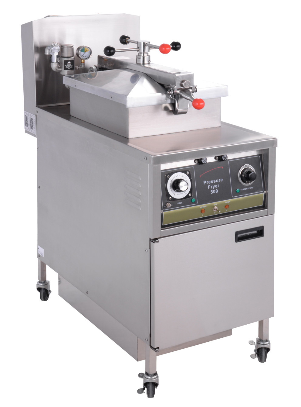 American Style Chicken Pressure Fryer Electric Gas