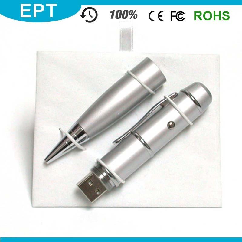 Laser Flashlight Pen Shape USB Flash Drive (TP021)