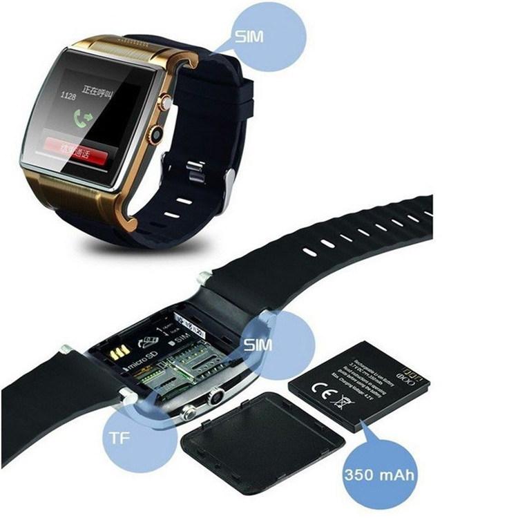 Gelbert L88 Camera FM Radio Bluetooth Smart Watch Mobile Phone