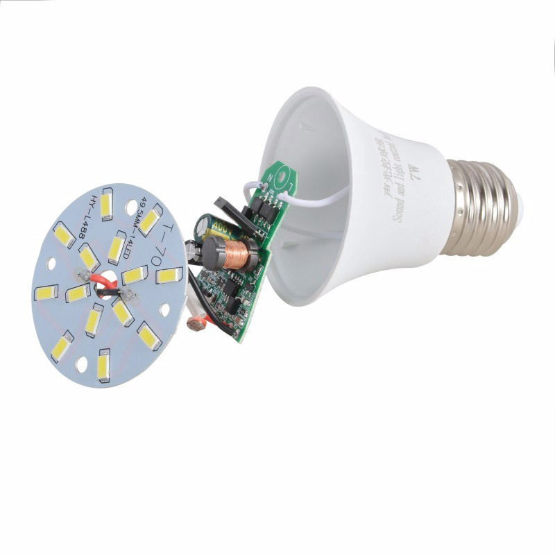 New LED Sound Control Bulb LED Light Bulb LED Lighting Bulb