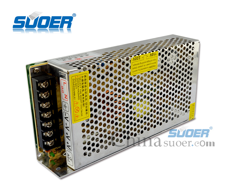 Suoer Factory Price 120W LED Power Supply DC 12V 10A Power Supply (SPD-P120)