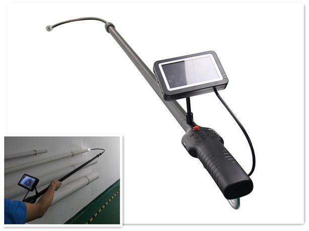 Video Camera with 5.6m Adjustable Pole for Manhole Inspecting