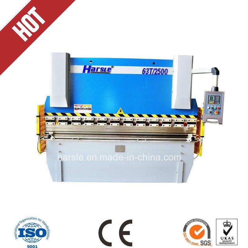 Hydraulic Wc67y-40t/2500 Sheet Metal Bending Machine