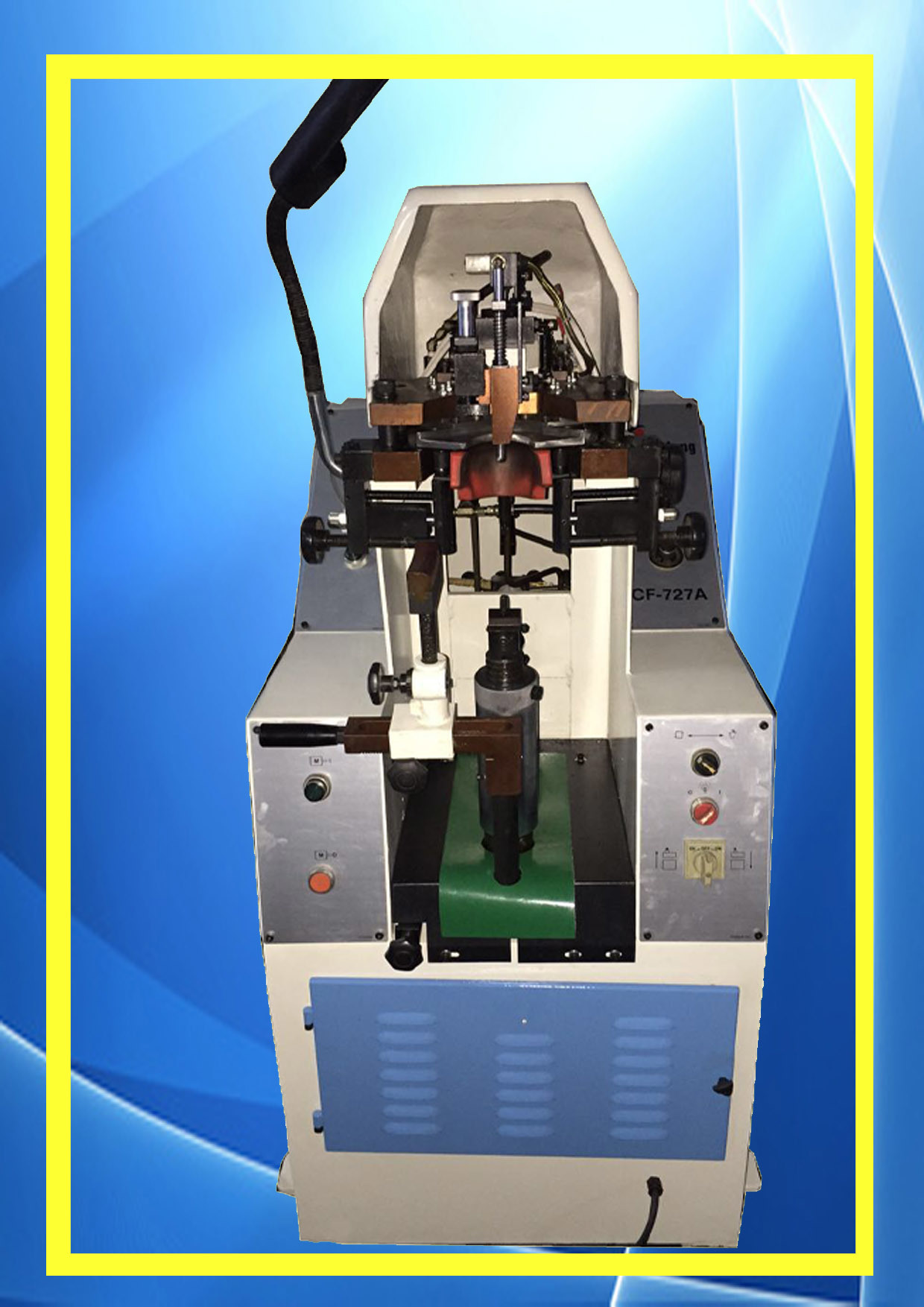 Reconditioned Chen Feng Shoe Making Heel Lasting Machine (CF-727A)