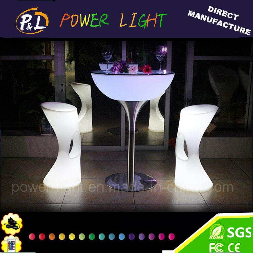 Event Decorative PE Material Plastic LED Furniture