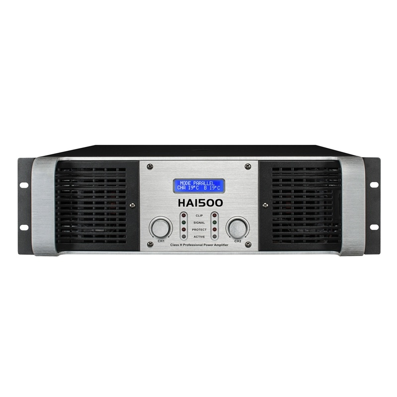 Intelligent Power Amplifier with LCD (HA series)