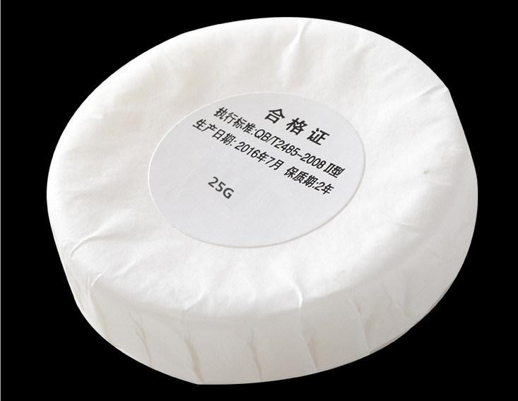 Round Soap/ White Hotel Soap