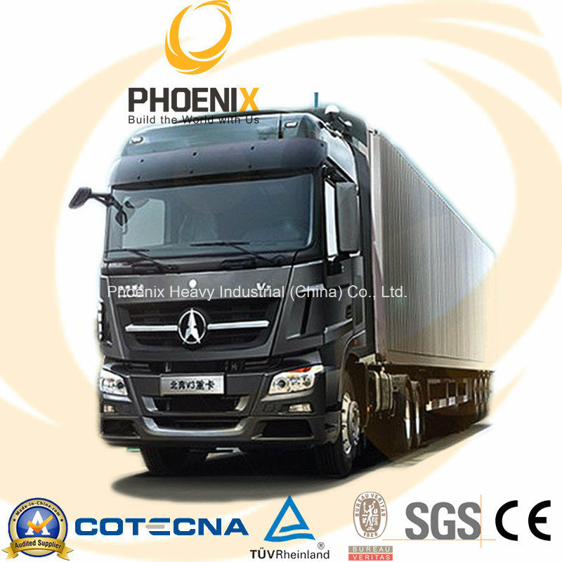 420HP Beiben Truck V3 Cabin 6X4 with Mercedes Benz Technology