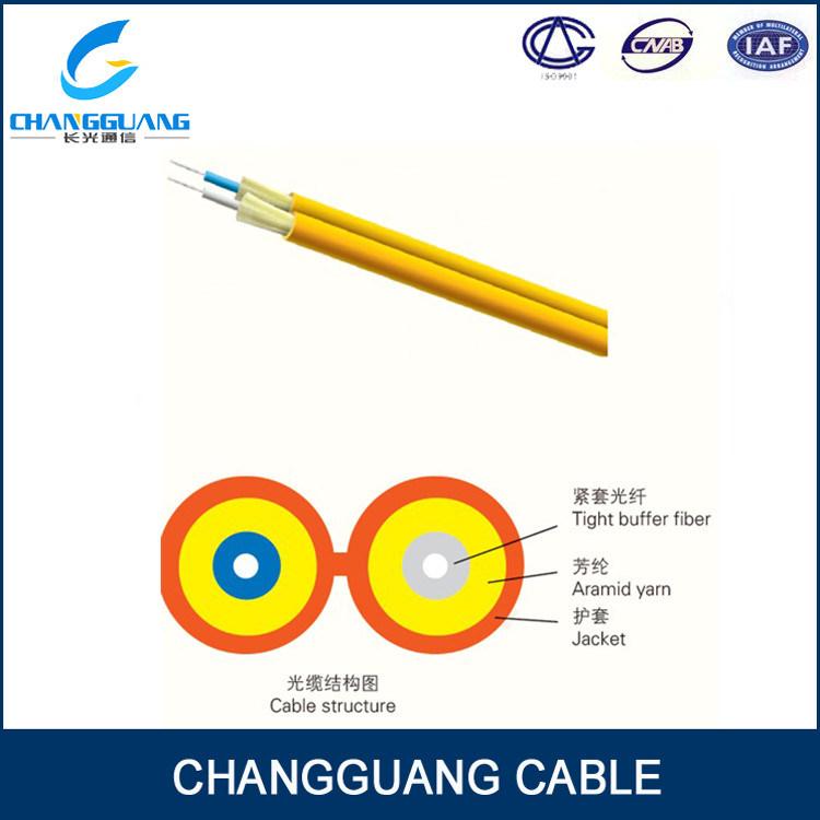 LSZH Figure 8 Double Core Fiber Optic Cable Gjfj8V