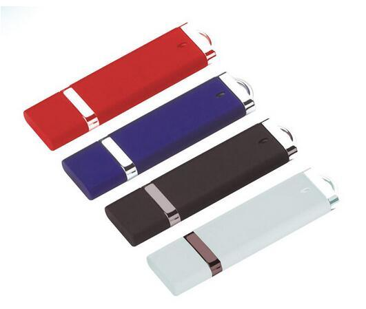 Concise Style Rectangle Plastic USB 1GB 2GB 4GB