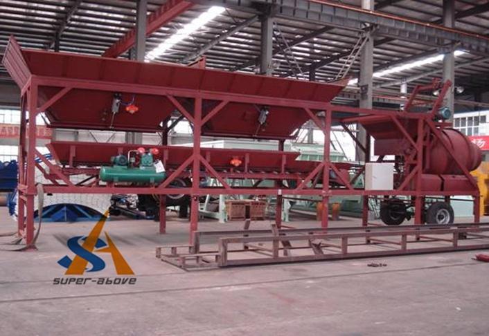 Mobile Concrete Mixing Plant, Concrete Batching Plant