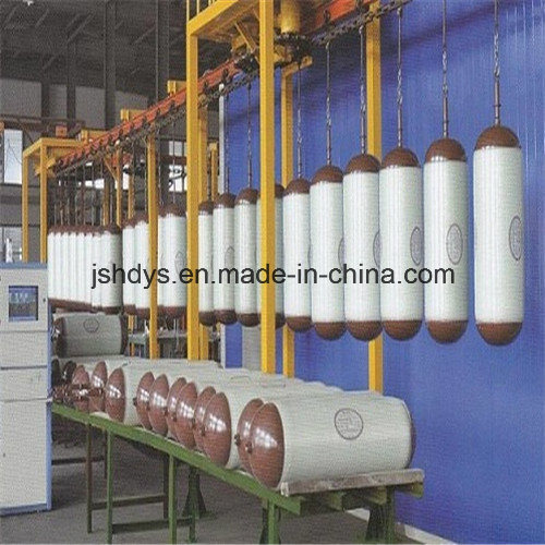 80L High Pressure Steel CNG Gas Cylinder (GB17258) for Automotive Vehicles