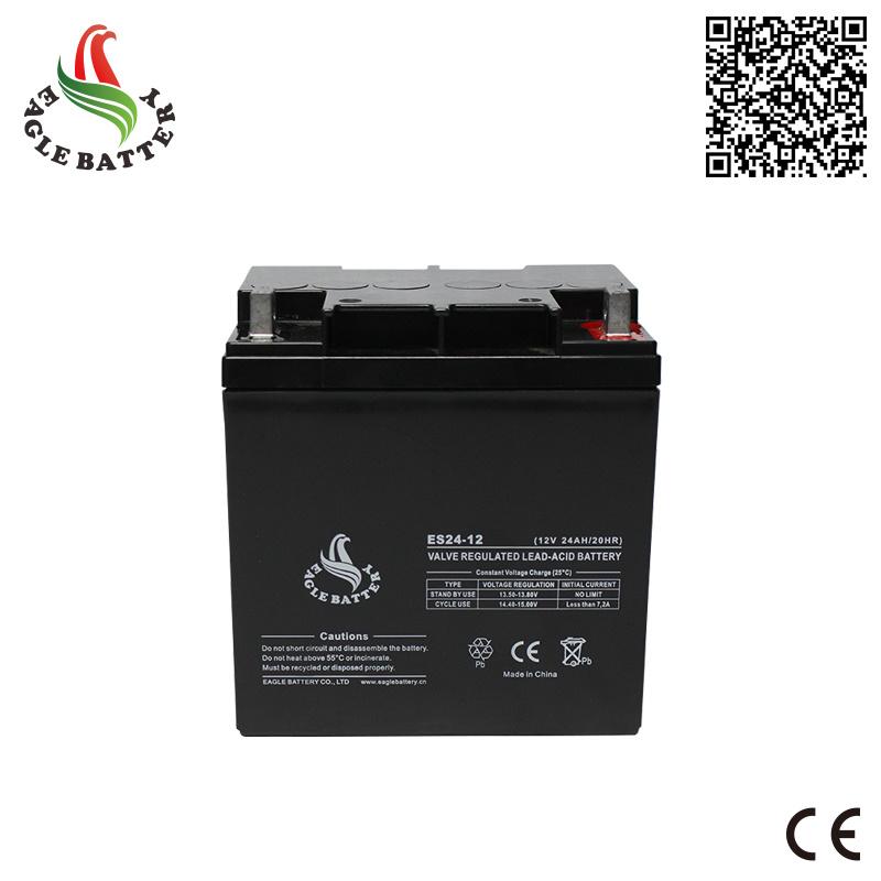 12V 24ah VRLA Sealed Lead Acid Battery for UPS