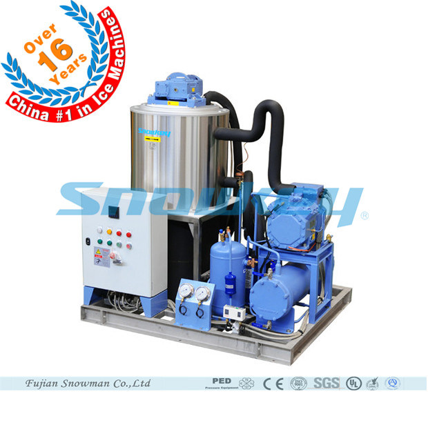 China Top1 Small Size 5 Tons Per Day Water Cooling Type Slurry Ice Machine