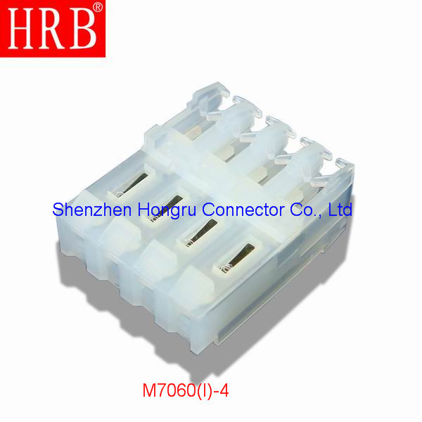 3.96 Pitch Natural Nylon Material IDC Connector with Covers