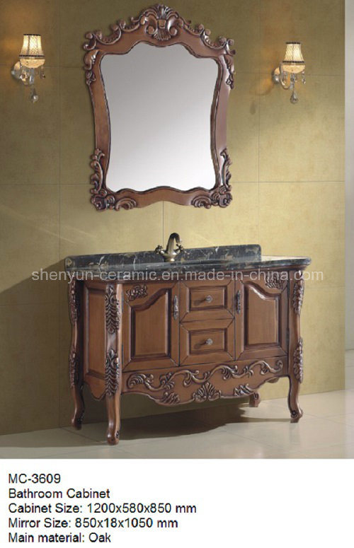 Bathroom Furniture Bathroom Cabinet with Wash Basin (MC-3602)