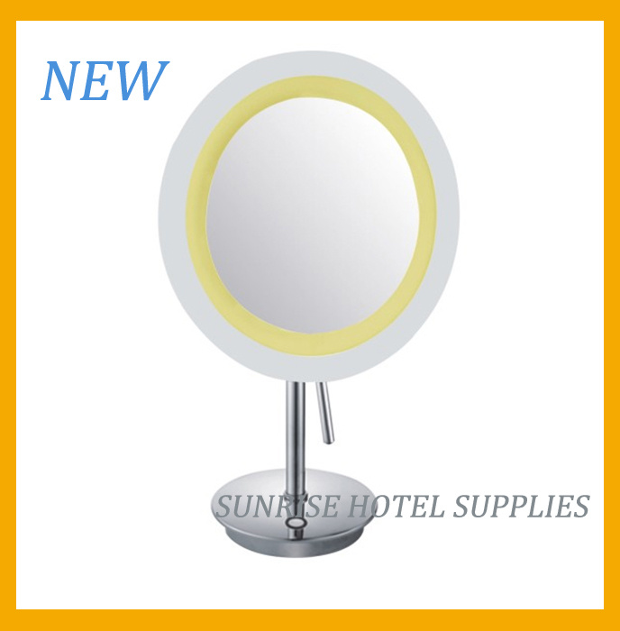 New Arrival Free Standing Magnifying Mirror for Hotel