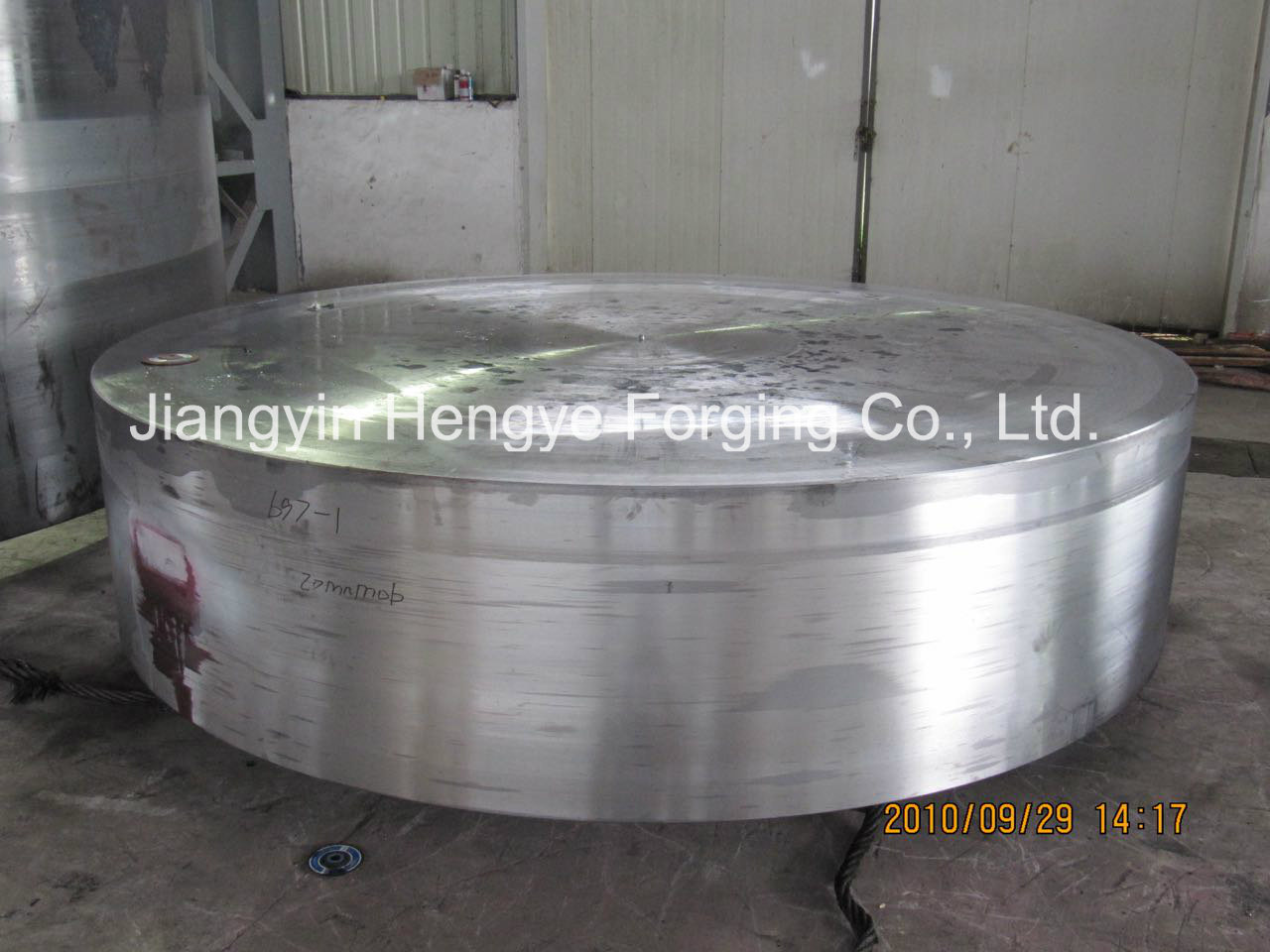 Hot Forged Stainless Steel 316L Tube Sheet