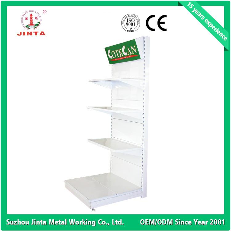 Single Sided Wall Shelf, Metal Supermarket Shelves, Corner Shelf (JT-A24)