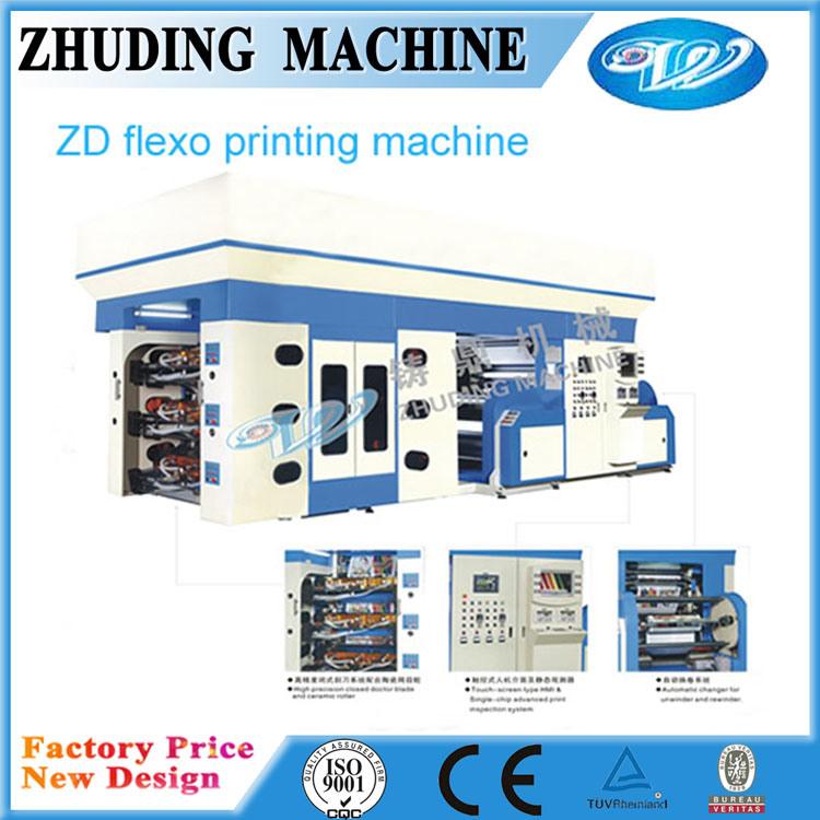 Non Woven Fabric Printing Machine