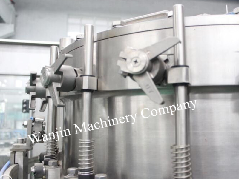 Soft Drinks CO2 Gas Carbonated Production Line