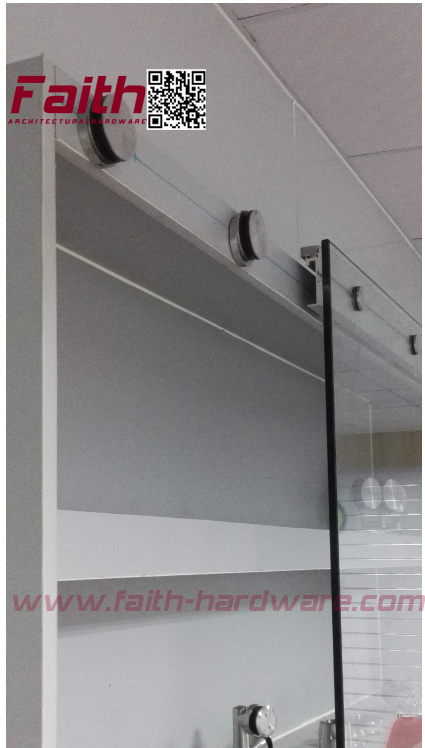 Stainless Steel Office Glass Sliding Door (SDS. 501. SS)