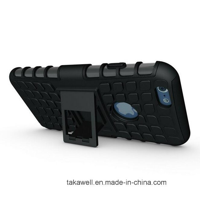 Tire Armor Case with Stand for iPhone 5 6s for Samsung S6 S7 Mobile Phone Case